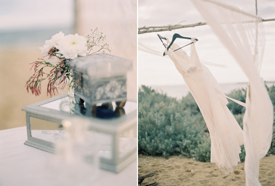 elopement inspiration from intique and co014 Gorgeous Gowns Just Us Two From Intique & Co