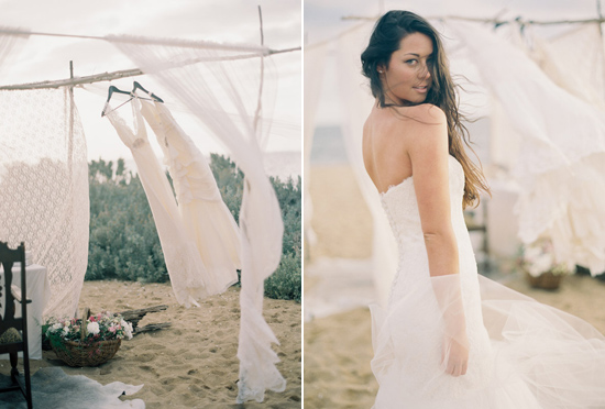 elopement inspiration from intique and co015 Gorgeous Gowns Just Us Two From Intique & Co