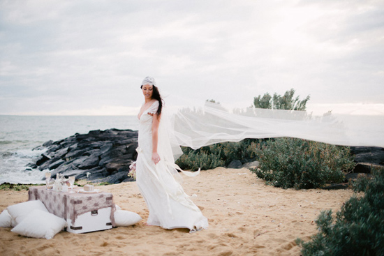 elopement inspiration from intique and co020 Gorgeous Gowns Just Us Two From Intique & Co