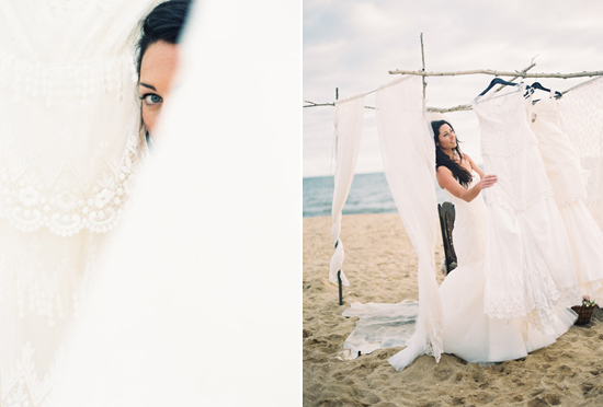 elopement inspiration from intique and co024 Gorgeous Gowns Just Us Two From Intique & Co