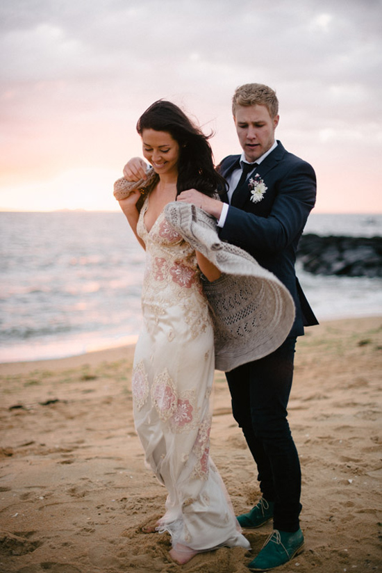 elopement inspiration from intique and co035 Gorgeous Gowns Just Us Two From Intique & Co