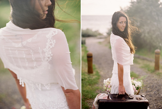elopement inspiration from intique and co041 Gorgeous Gowns Just Us Two From Intique & Co
