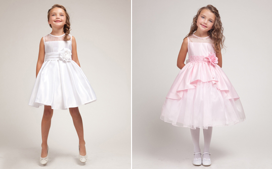 flower girl dresses Choosing Outfits for your Flower Girls And Page Boys
