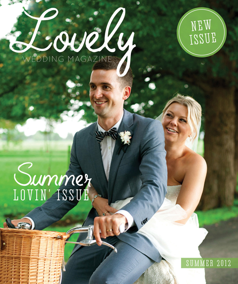 new issue summer lovin edition Lovely wedding magazine