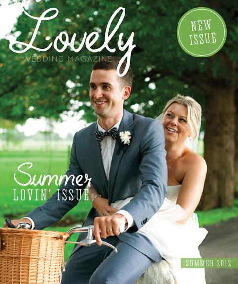 new issue summer lovin edition Lovely wedding magazine