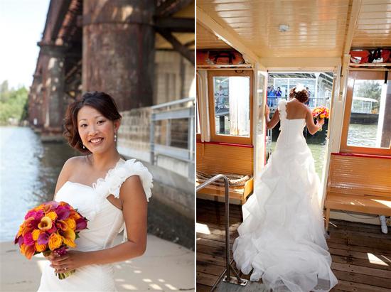 orange and pink shark island waterside sydney wedding0951 Bess and Mitchs Orange & Pink Shark Island Sydney Wedding