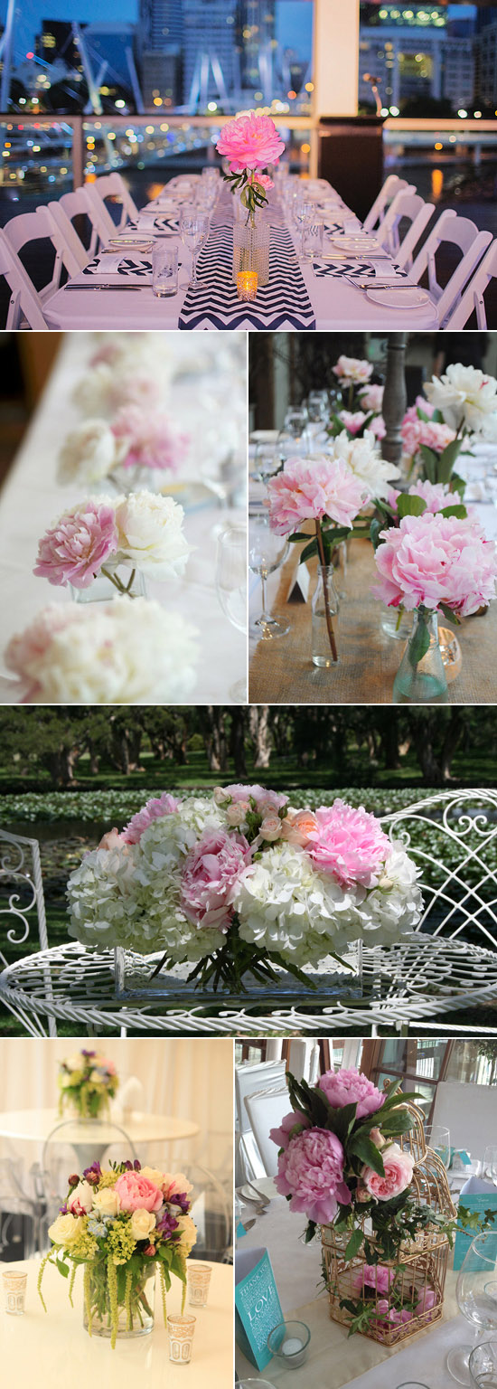 peonies wedding inspiration An Ode To Peonies
