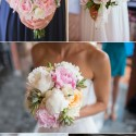 pink peonies wedding inspiration