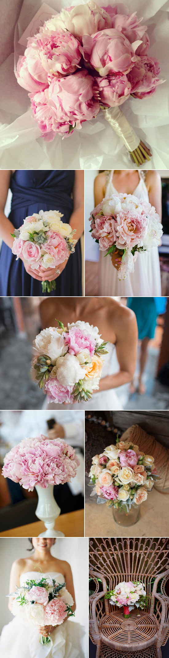 pink peonies wedding inspiration