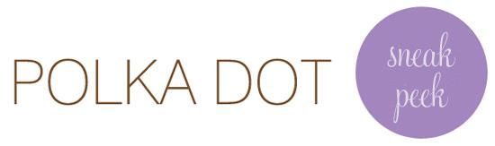 polka dot sneak peek1 Polka Dot Sneak Peek Reception Centrepieces
