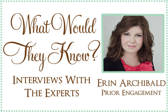 prior engagement wedding accessories online store What Would They Know Erin Archibald of Prior Engagement