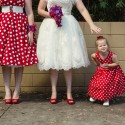 retro polka dot wedding011