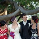 retro polka dot wedding028