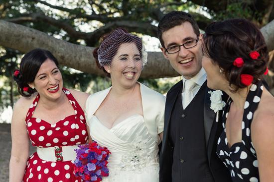retro polka dot wedding030