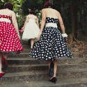 retro polka dot wedding038