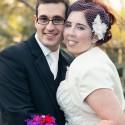 retro polka dot wedding061