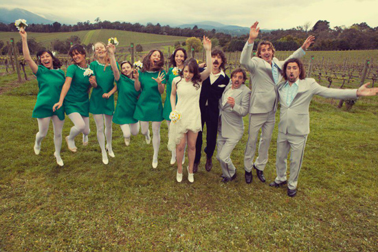 sixties inspired wedding030 Sivan and Todds Sixties Inspired Wedding