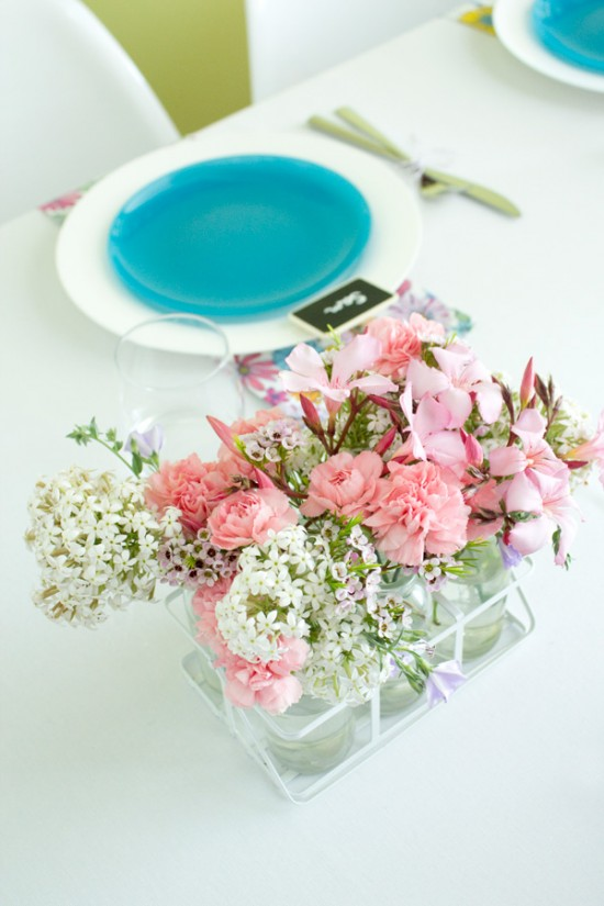 sweet floral table 10 550x825 Spring Floral Table Styling Ideas