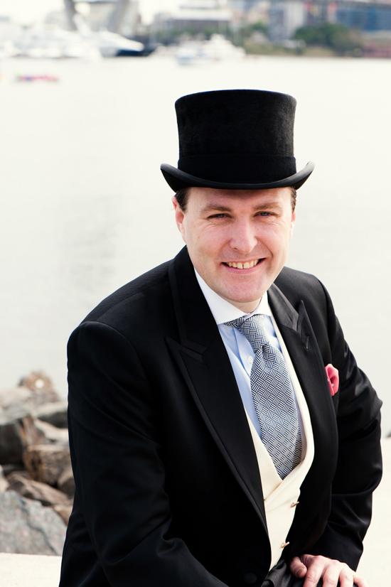 sydney top hat groom style008 Groom Style Fintan