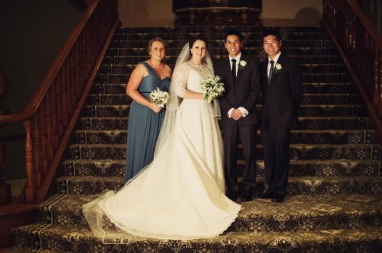 w120610 374a 550x365 Princess Catherine Style Brisbane Wedding With A Twist