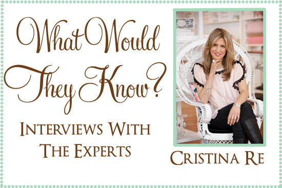 what would they know cristia re stationery What Would They Know? Cristina Re