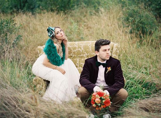 whimsical fall wedding inspiration008 Whimsical Autumn Wedding Inspiration