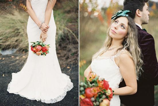 whimsical fall wedding inspiration016 Whimsical Autumn Wedding Inspiration