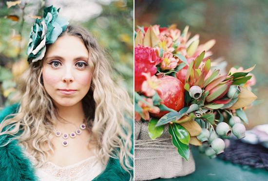 whimsical fall wedding inspiration017 Whimsical Autumn Wedding Inspiration