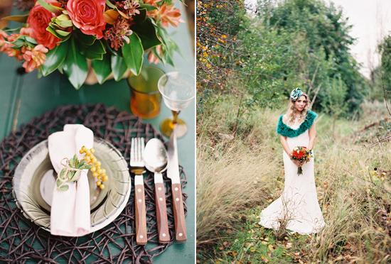 whimsical fall wedding inspiration018 Whimsical Autumn Wedding Inspiration
