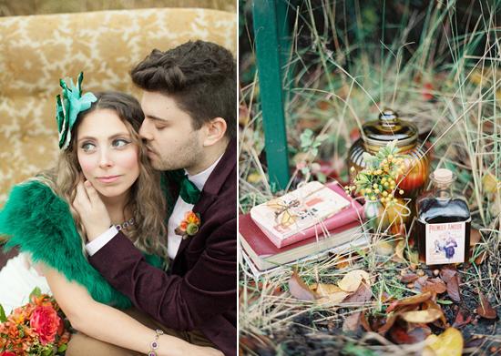 whimsical fall wedding inspiration019