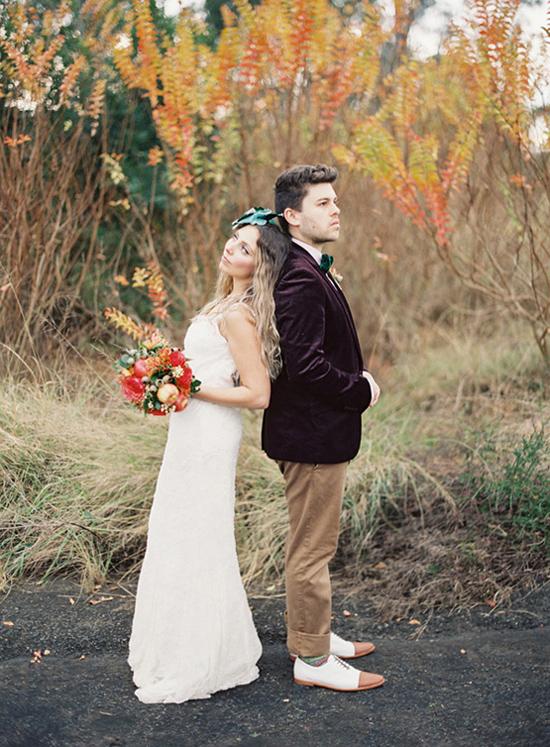 whimsical fall wedding inspiration020 Whimsical Autumn Wedding Inspiration