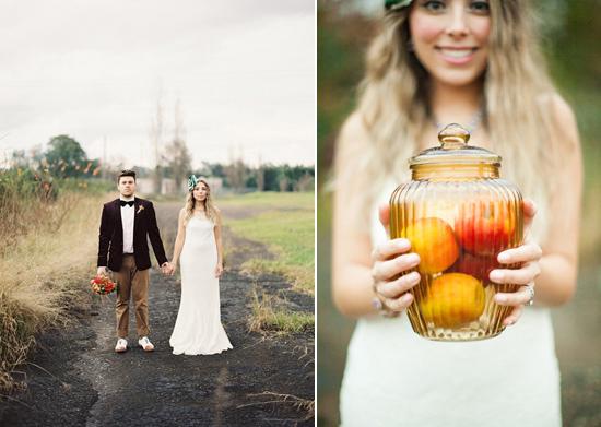 whimsical fall wedding inspiration023 Whimsical Autumn Wedding Inspiration