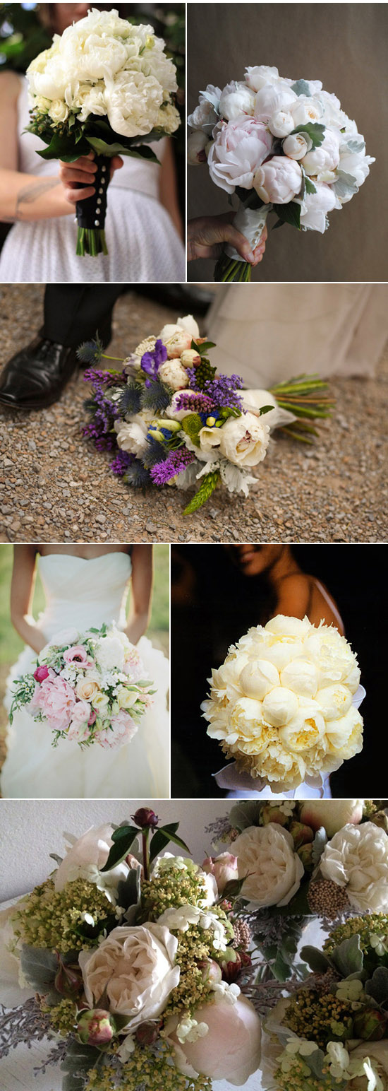 white peony wedding inspiration