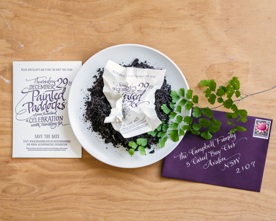 zed and bee wedding stationery collection005