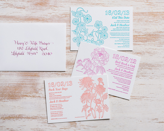 zed and bee wedding stationery collection009 Zed & Bee Wedding Stationery Collection