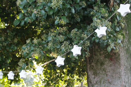 DIY Project Rustic Christmas Star Bunting DIY Project Rustic Christmas Bunting Tutorial