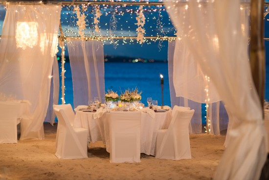 JMP2574 550x367 All White Wedding Setting: Pristine Wedding Luxury at Jumby Bay, a Rosewood Resort