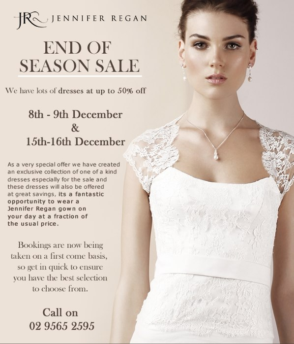 Jennifer Regan - End of Season SALE — Newsletters