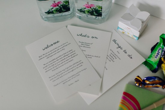 Kellee Walsh Welcome Bags 09 550x366 Destination Wedding Welcome Bags