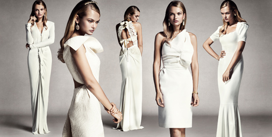 Roland Mouret wedding gowns01 Roland Mouret The White Collection