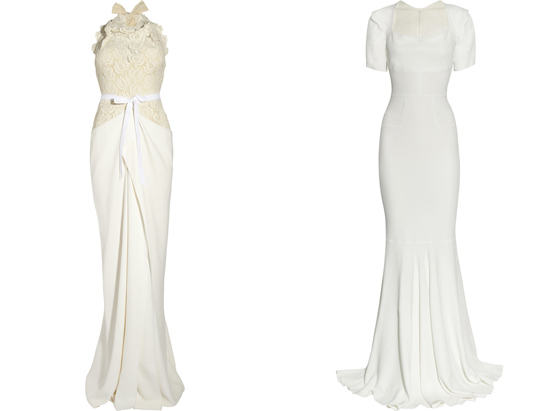 Roland Mouret wedding gowns021 Roland Mouret The White Collection