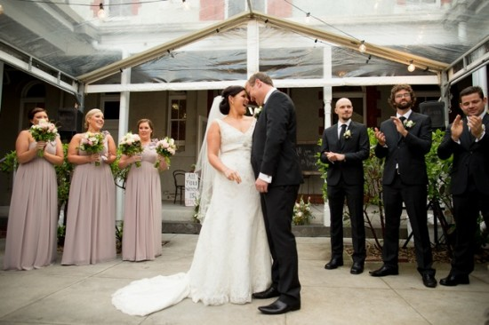 TB 167 201208120825 DX 60621 550x366 Lisa & Macca's Vintage Inspired Convent Wedding