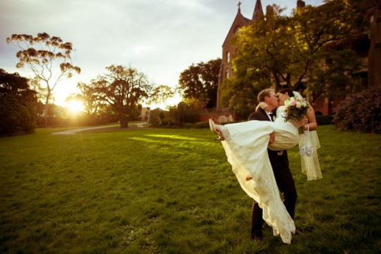 TB 250 201208120825 DX 62911 550x366 Lisa & Macca's Vintage Inspired Convent Wedding