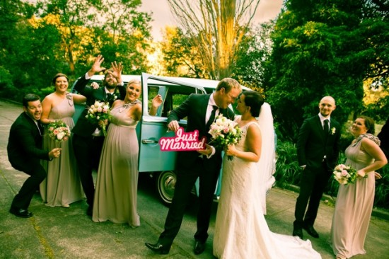 TB 275 201208120825 DX 63521 550x366 Lisa & Macca's Vintage Inspired Convent Wedding