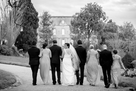 TB 318 201208120825 DX 74261 550x366 Lisa & Macca's Vintage Inspired Convent Wedding