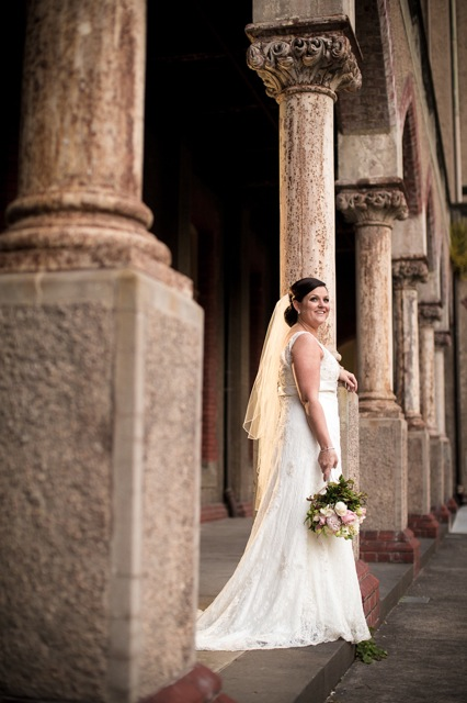 TB 340 201208120825 DX 64871 Lisa & Macca's Vintage Inspired Convent Wedding