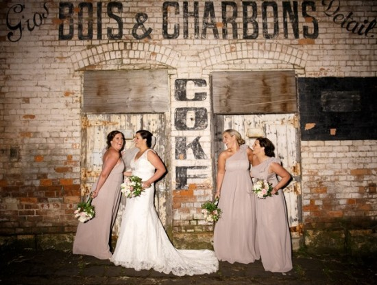 TB 389 201208120825 DX 66991 550x415 Lisa & Macca's Vintage Inspired Convent Wedding