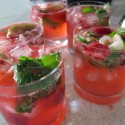 Yuletide Cherry Mojitos