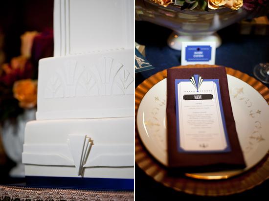 art deco wedding inspiration011 Art Deco Wedding Inspiration