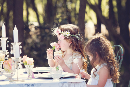 flowergirl ideas03 Teepees & Sweetpeas Flower Girl Inspiration